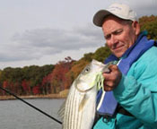 Striper Fishing On the Bush River during Late Fall
